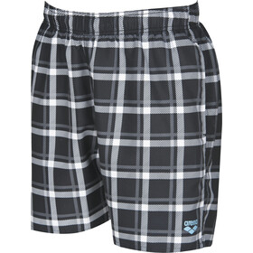 arena Devon Checks Short de bain Homme, black